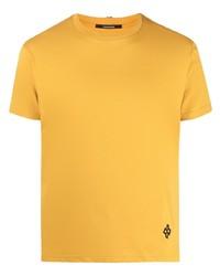senf T-Shirt mit einem Rundhalsausschnitt von Tagliatore