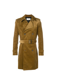 senf Trenchcoat von Saint Laurent