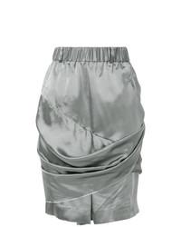silberne Bermuda-Shorts von Moohong