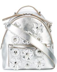 silberne bestickte Taschen von Fendi