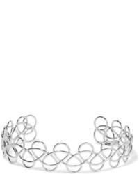 silberne enge Halskette von Acne Studios