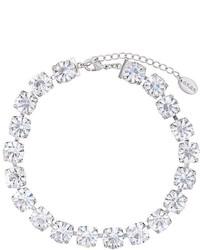 silberne enge Halskette von G.V.G.V.