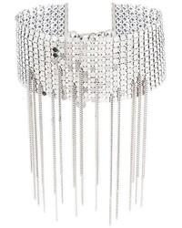 silberne enge Halskette von MM6 MAISON MARGIELA