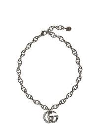 silberne Halskette von Gucci