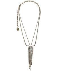 silberne Halskette von Lanvin