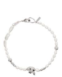 silberne Halskette von Mounser