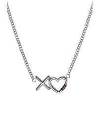 Silberne Halskette von Tommy Hilfiger