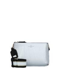 silberne Leder Umhängetasche von Paul's Boutique