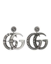 silberne Ohrringe von Gucci