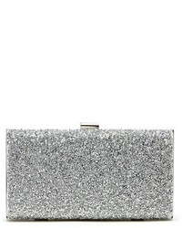 silberne Paillette Clutch