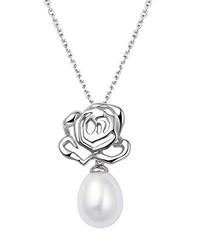silberne Perlenkette von Fei Liu