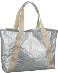 silberne Shopper Tasche aus Leder von Joop!