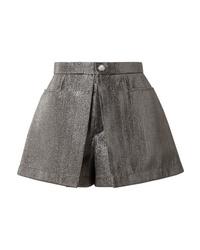 silberne Shorts von Chloé