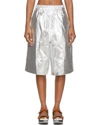 Silberne Shorts von Juun.J