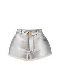 silberne Shorts von Marni