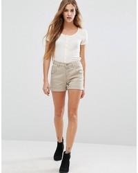silberne Shorts von Only