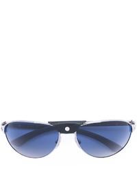 silberne Sonnenbrille von Cartier