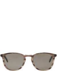 silberne Sonnenbrille von Garrett Leight