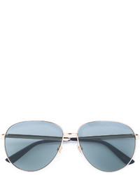 silberne Sonnenbrille von Gucci
