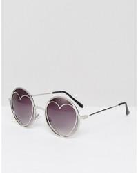 silberne Sonnenbrille von Missguided