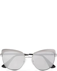 silberne Sonnenbrille von Prada