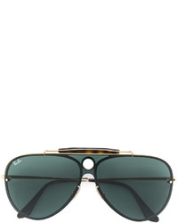silberne Sonnenbrille von Ray-Ban
