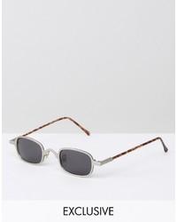 silberne Sonnenbrille von Reclaimed Vintage