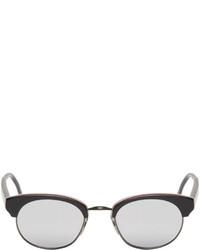 silberne Sonnenbrille von Thom Browne