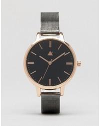 silberne Uhr von Asos