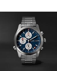 silberne Uhr von Bremont
