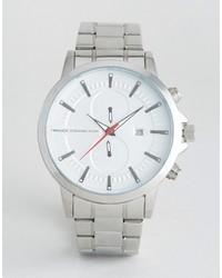 Silberne Uhr von French Connection