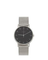 silberne Uhr von Issey Miyake Men