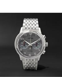 silberne Uhr von Junghans