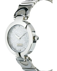 silberne Uhr von Moschino Cheap & Chic