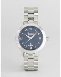 silberne Uhr von Vivienne Westwood