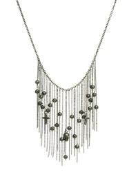 silberne Perlen Halskette von Religion