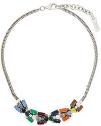 silberne verzierte enge Halskette von Rada'