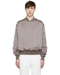 silberner Pullover von Haider Ackermann