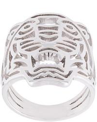 silberner Ring von Kenzo