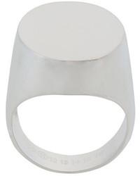 silberner Ring von Maison Margiela