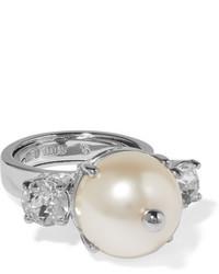 silberner Ring von Miu Miu