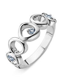 silberner Ring von ORPHELIA