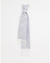 silberner Schal von Twisted Tailor