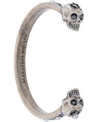 silbernes Armband von Alexander McQueen