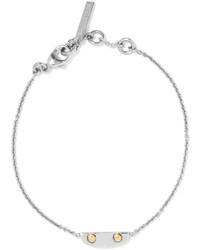 silbernes Armband von Balenciaga