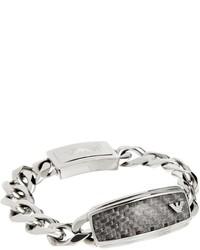 silbernes Armband von Emporio Armani