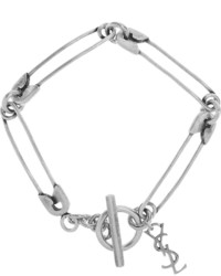 silbernes Armband von Saint Laurent