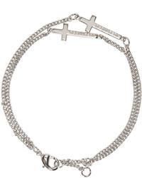silbernes Armband von DSQUARED2