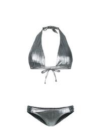 silbernes Bikinioberteil von Islang