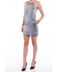 silbernes Camisole-Kleid